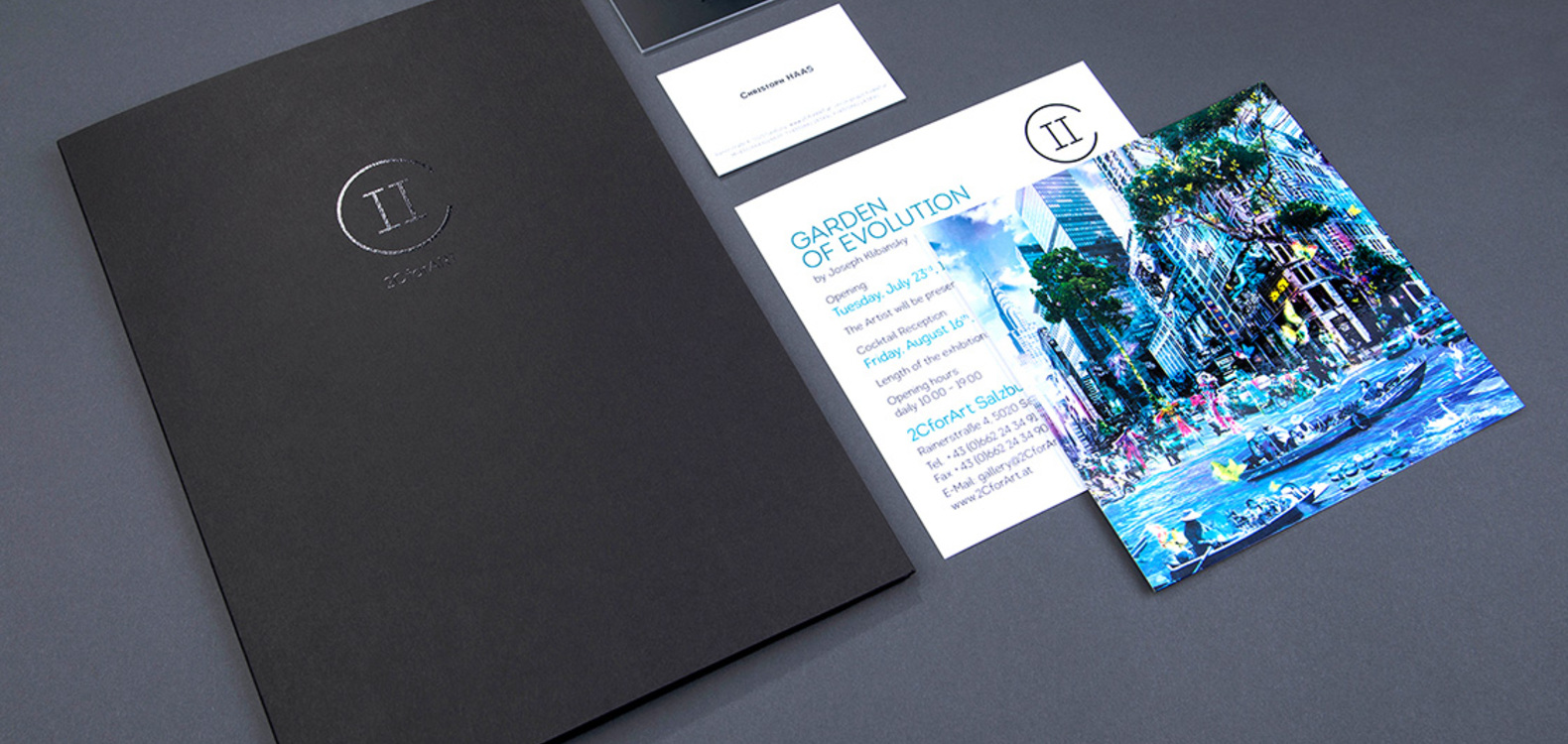 Corporate Design: Gestaltungskonzept, 2C for ART
